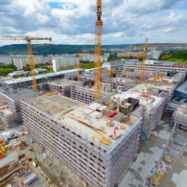 Jena University Hospital Germany - strojne inštalacije - ogrevanje - hlajenje