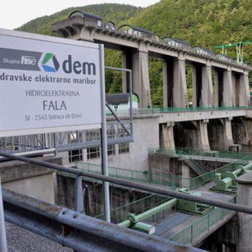Strojne instalacije - energetski objekti - dravske elektrarne